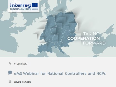 eMS webinar for national controllers and contact points: Part C (Control Section, Update 06/2017)