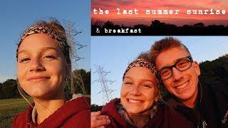watching the sunrise with my boyfriend | Bri Lynn