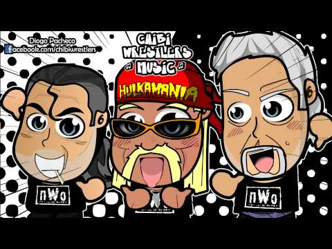 Chibi Wrestlers Music - nWo New World Order Theme Chibified (WWE Parody)