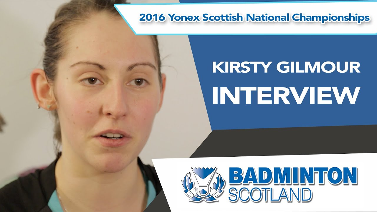 Interview Kirsty Gilmour discusses her 5th straight title at the