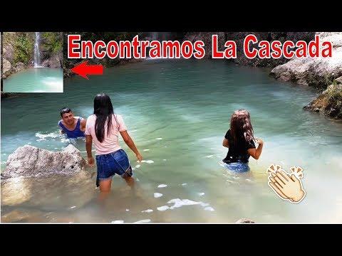 7 -Después De Tanto Caminar Al fin Encontramos La Linda Cascada-Todos a Bañarse-Perquin-P7