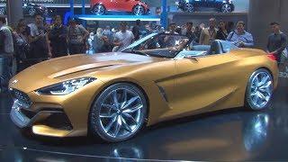 BMW Z4 Concept Exterior And Interior