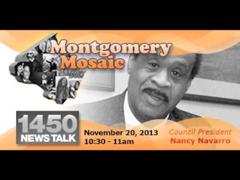 November 20, 2013 Montgomery Mosaic Radio Show