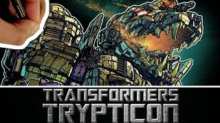 DRAWING OPTIMUS PRIME #14 COVER - THE MOST DETAILED DRAWING EVER (i think) of TRANSFORMERS TRYPTICON