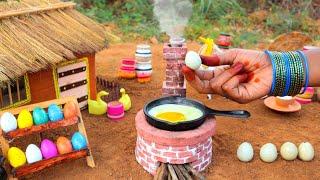 Miniature Egg Fried Rice   Schezwan Egg Fried Rice   Mini Foodkey