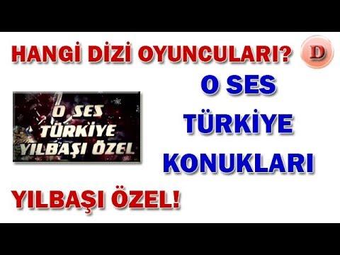 O Ses Türkiye Yılbaşı Özel Konukları - 2018-2019 Dizi Oyuncuları Ünlüler