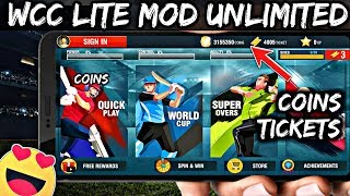 🔥Wcc Lite Mod | Unlimited Tickets And Coins | Wcc Lite 🔥
