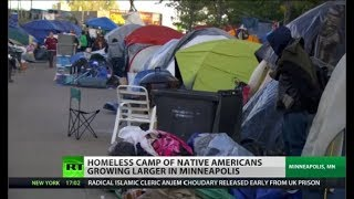 Native American Tent City a Profile of a 'Forgotten' People