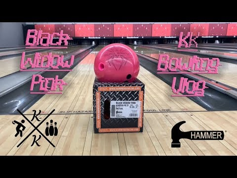 Hammer Black Widow Pink Bowling Ball Review by Kyle Kessler