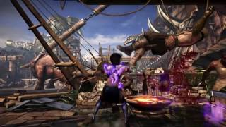 MKX:Mournful Combos & Setups Preview(Styling)