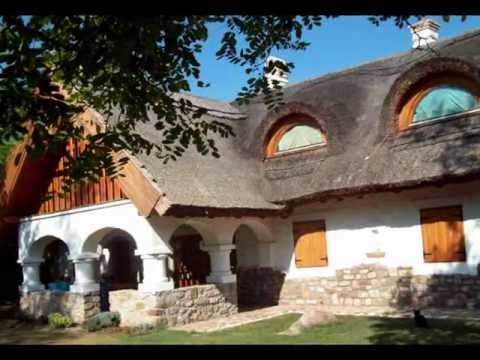 Salföld, a small Hungarian village with beautiful old houses