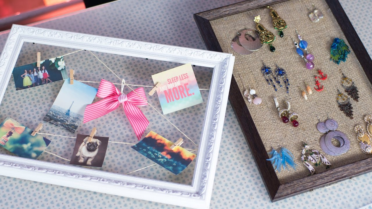 2 Creative Ways to Reuse & Repurpose Old Photo Frames - YouTube
