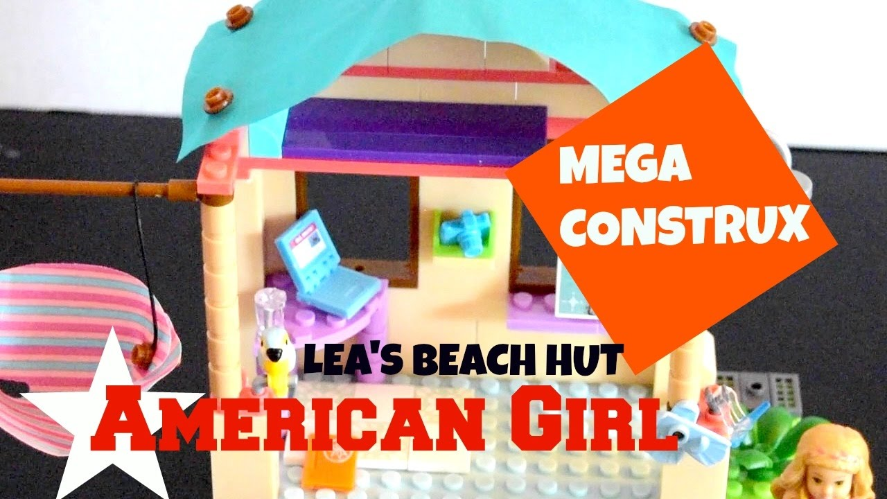Mega CONSTRUX American Girl LEA/'s Beach Hut Building Set New TOYS KIDS