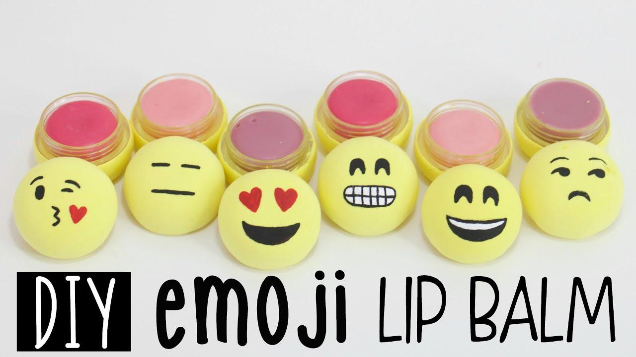 Room Ideas For Guys Diy Emoji Lip Balms From Scratch Fun Amp Easy Youtube