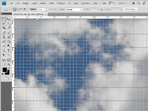 Photoshop Grids, Guides, Rulers - YouTube