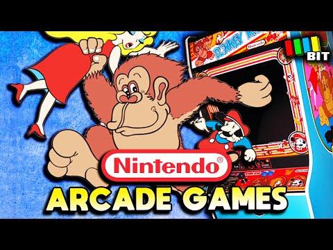 A History of Nintendo Arcade Games [TetraBitGaming]