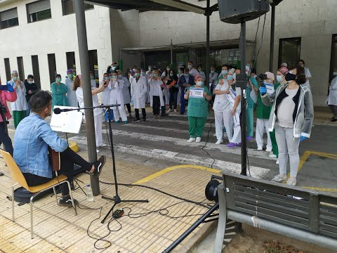 Homenaje a los enfermeros en el Hospital de Valdeorras