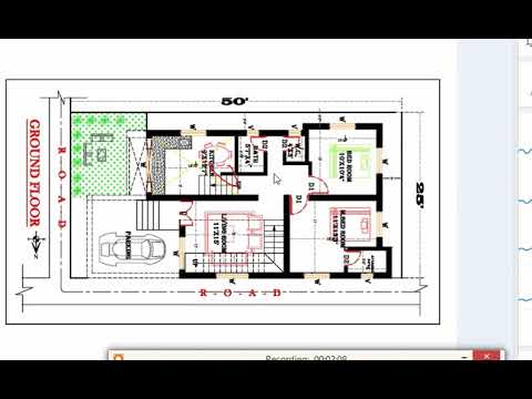 1000 SQ FT BEST DUPLEX HOUSE PLAN