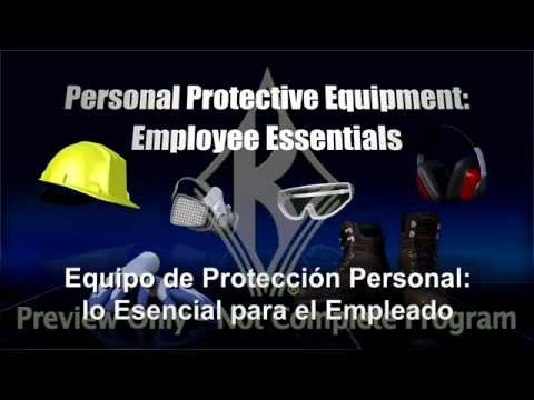 Personal Protective Equipment: Employee Essentials (SPANISH)