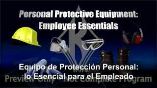 Personal Protective Equipment: Employee Essentials (SPANISH)
