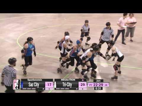 Game 10: Sac City Rollers v Tri-City Roller Derby