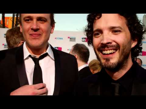 Jason Segel, James Bobin and Bret McKenzie at the 2012 Critics Choice Awards