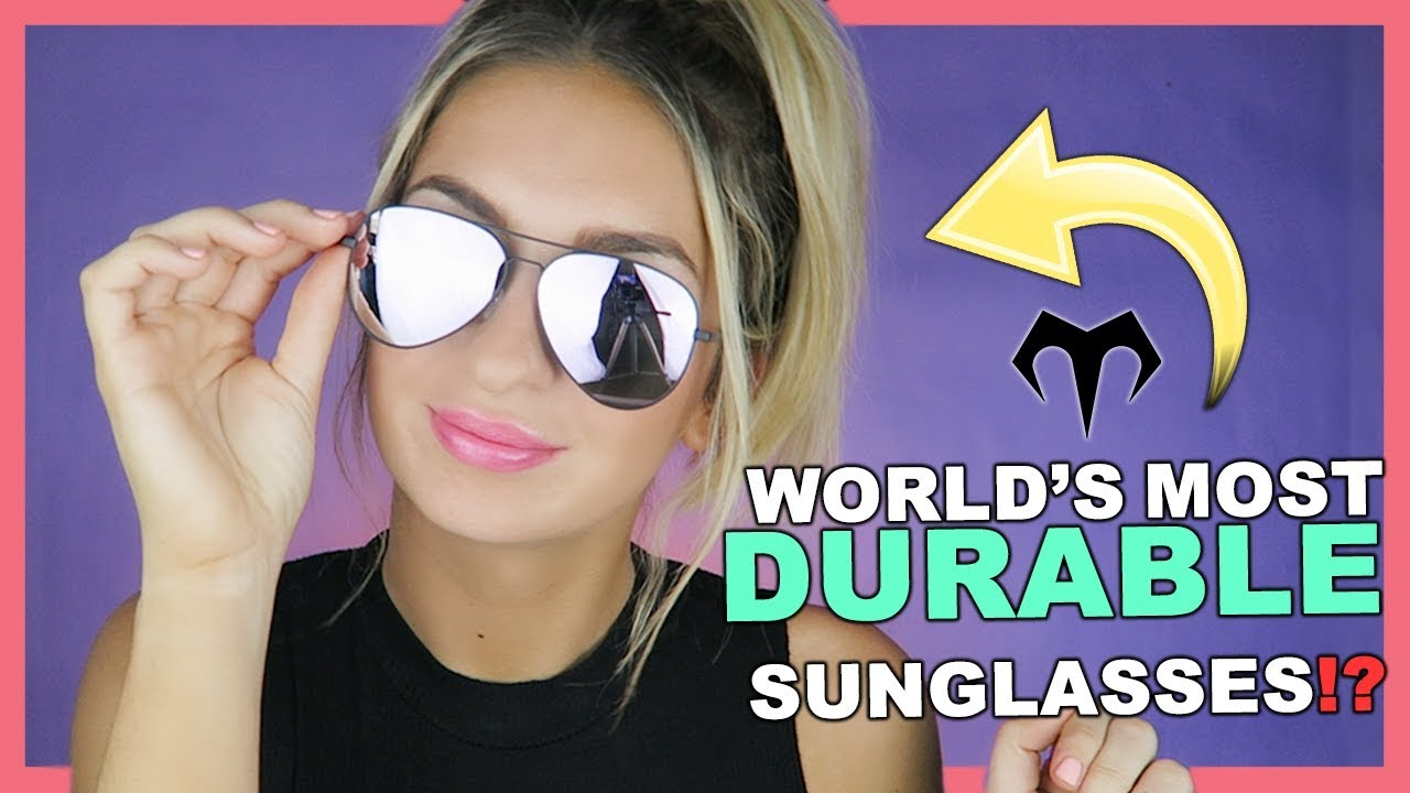 a4a345d537 CAN YOUR SUNGLASSES DO THIS ! MARSQUEST DURABILITY TEST   REVIEW + GIVEAWAY!