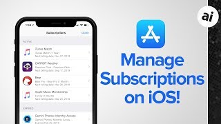 Quick Tip: How To Manage Subscriptions on iOS