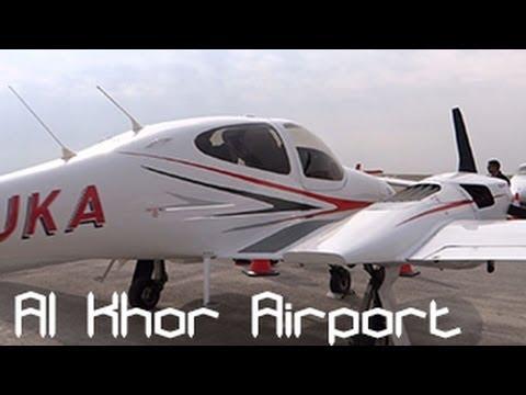 OTBK - Al Khor Airport Walking around