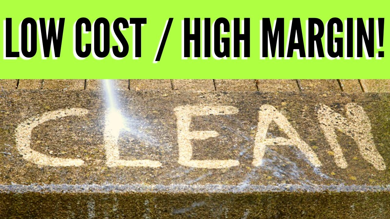 Start a Power Washing Business: $3000 A MONTH Part-Time