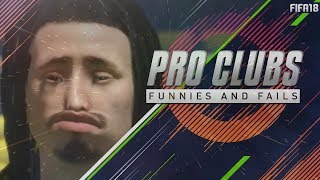 FIFA 18 Pro Clubs | Fails that Win #1