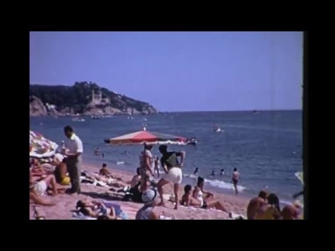 Lloret de Mar,  Costa Brava, Spain 1967