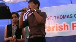 Vennila chandana kinnam by Lijo and Winnie.....@ St.Thomas church Jalahalli....on 08/07/2012....