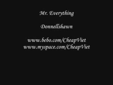 Mr. Everything - Donnellshawn (Lyrics)