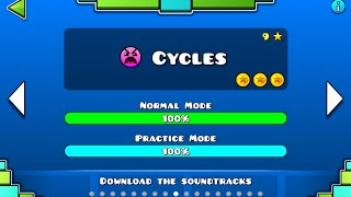 Geometry Dash Cycles 100 Complete