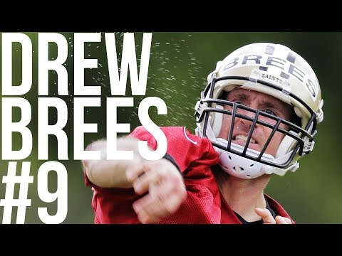 Drew Brees looks sharp on first day of Saints training camp