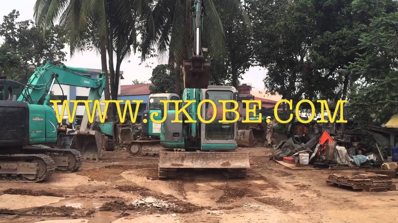 Kobelco SK60SR For Sale In Singapore Export To Indonesia Vietnam Myanmar  With Breaker Piping