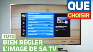 Comment régler l'image de son téléviseur LCD