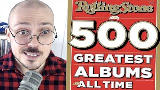 Rolling Stone's Top 500 Albums List Is Rough