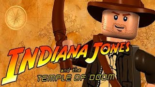 LEGO Indiana Jones - TEMPLE OF DOOM - ALL LEVELS Walkthrough Gameplay