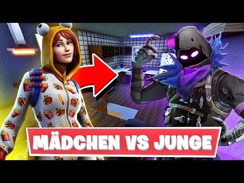 JUNGE VS MÄDCHEN FORTNITE BATTLE - Fortnite [Deutsch/HD]