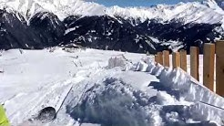 Sonnen Ski fahren im Wipptal - Ski Arena Bergeralm, in Steinach am Brenner