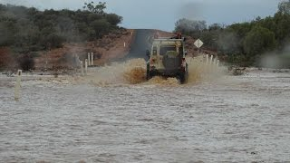 4x4 Simpson Adventure - Big Red - Escaping Birdsville Floods - Part 2