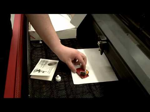 Maintenance and basic set up of a universal laser engraver @ SCC