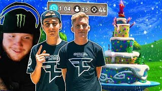 FaZe Cloak most insane 26kill solo squad clutch with Tfue, timthetatman and Highdistortion!