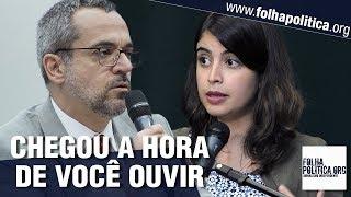 Ministro da Educação de Bolsonaro rebate e confronta Tabata Amaral - Abraham Weintraub