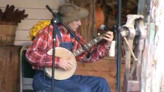 "Leroy Troy ""New River Train"" and banjo tricks!!"