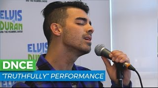 "DNCE - ""Truthfully"" Acoustic Performance 
