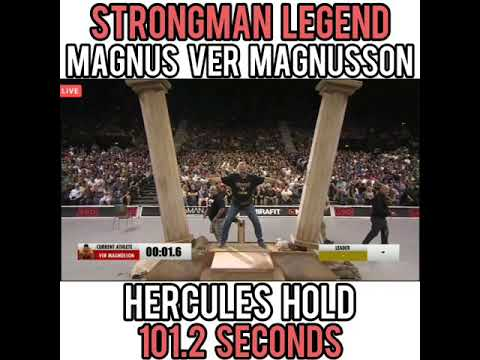Magnus Ver Magnusson destroying the Hercules Hold