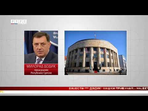 Dodik: Haški tribunal-najveći generator nepomirenja među narodima